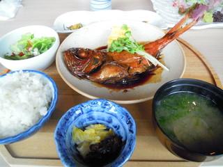 千漁家 - 金目煮付け定食 ¥1500