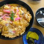 お食事処 丸徳 - 木の葉丼750円