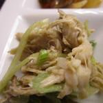 バルバロ - 地鶏とういきょうのサラダ