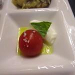 バルバロ - ミニトマトとモッツァレラ