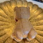 Kappouyuzuha - クマの最中 これは定番。大好きな料理。