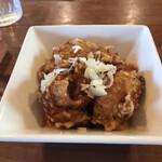 ログ - 鶏の唐揚げ ポン酢ソース