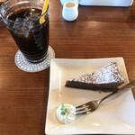 ログ - アイスコーヒーとガトーショコラ