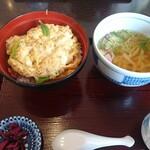 たんばや - 料理写真:カツ丼セット