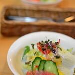 ナノカフェ - 料理写真:ランチのサラダ