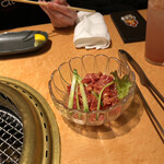 焼肉 皐月 - ユッケ