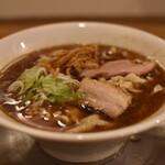麺や 七彩 - 喜多方らーめん(煮干)