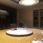 翠林 - 8人テーブル席