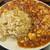 香林 - 料理写真:麻婆豆腐+炒飯のコンビ