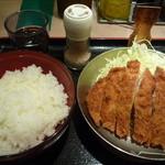 祭太鼓 - お目当て☆塩とんかつ丼