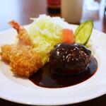 旬香亭 - ハンバーグ&フライ