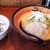 虎 - 料理写真:味噌(税込850円)と山わさび飯のセット(税込200円)