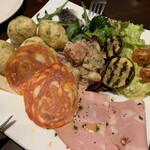 ピッツェリア チーロ - 前菜盛り合わせ