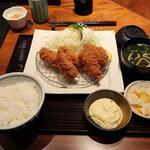 Tonkatsumaisen - 牡蠣フライ膳 5個