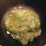 味 竹林 - あおさのかけご飯