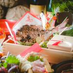 米と魚 酒造 米家ル - 寿 祝い鯛