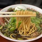 新福菜館 - A定食 1,000円 (中華そば(並)リフト)