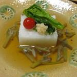 久富 - 先付け 養老豆腐