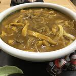 美曽乃 - 料理写真:カレーうどん(和牛肉)大 950円(税込)