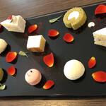 AMOUR - ミニチュアケーキ、二人分