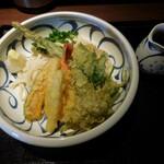 喜多一 - 料理写真:天ぷらぶっかけ
