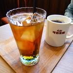 可否茶館 - グラスもかわいい
