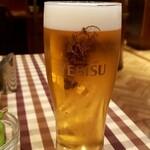 フジオ軒 - ヱビス生ビール