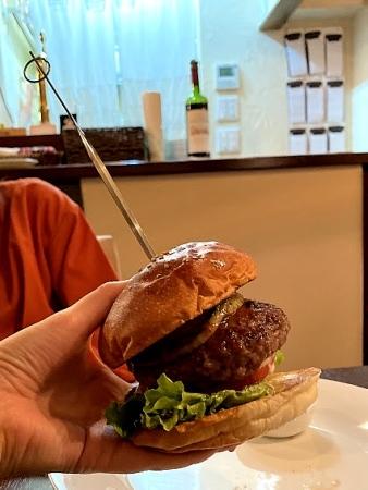 リュクスバーガーズの料理の写真