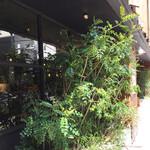 ニホンバシ・ブルワリー - いかにも新鮮な草がいただけそうなファサード