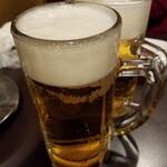 128032919 - 生ビール、一杯180円