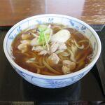藪北蕎麦 守田屋 - 料理写真:かしわそば(850円)
