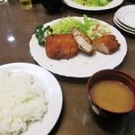 とんかつ 喜撰 - ロースカツ定食