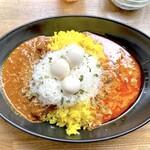 カリガリ - ユキノスカレー(1,100円)