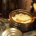 ポンチ軒 - 岩塩は「ゲラント塩」だそう