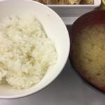 食彩工房 - 料理写真:ご飯少なめでもこの量!