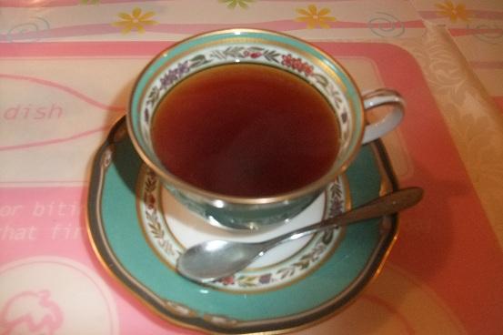 紅茶と私 オレンジペコ