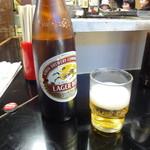 せきざわ食堂 - 基本のビール