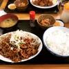 ひかり食堂 - 料理写真:ホルモン定食 ¥850-