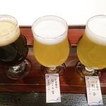 京都タワー サンド バル - ビール飲み比べ