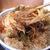 立喰いそば 源 - 料理写真:野菜かき揚げの断面