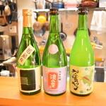 直会スタンド 宮 - 滋賀県・浪乃音は柔らかい口当たりが特徴。