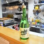 直会スタンド 宮 - 神亀は埼玉の純米酒。全量純米蔵のトップランナー。