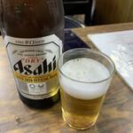 天婦羅 多から家 - ドリンク写真:瓶ビールで乾杯!