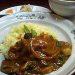 マリーD - 九条葱と牛肉の煮込みカレー(2008年3月撮影)