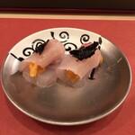 鮨 そえ島 - 料理写真:石鯛ウニ巻き