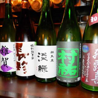 【店主厳選】季節でおいしい旬の日本酒!