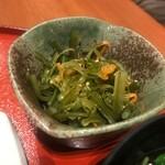 鈴波 - 昆布の小鉢