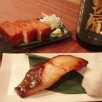 シムラホール - 人気メニュー、手造りのさつま揚げとお店でつけた銀ダラ西京焼き。一度は食べてみてください!