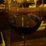 12807273 - グラスワイン・・軽めの赤でお願いしました。