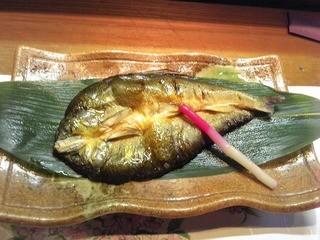 和一里 - 鮎の一夜干し ¥750・平成24年5月